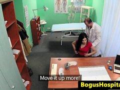 Bogus doctor fucks nurse and patient