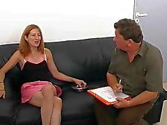 Fransız Amatör Kız Anal Audition