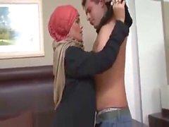 bravewebgirls - Arab Turbanli Hizmetisi , Fucked hard Amazing Pussy