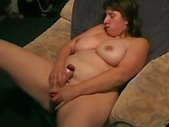 Nici Wichst is a chubby who is masturbating in a nice POV