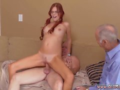 Young and old gang bang and riding old man snapchat Frankie