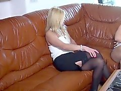 Kinky European Blonde Babe