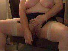 British mature lady on cam