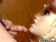 Homosexuell movie von Puppen ganz von Piss