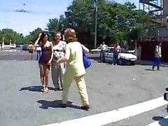 Horny Babe Angelina Fucks in Open Public by TROC