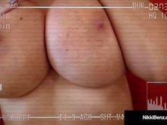 Mamalhuda loira prostituta nikki benz filmed a foder dela cliente!