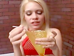 Kissy gokkun - bebida cum enorme
