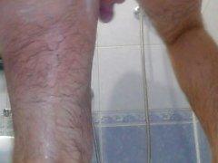 Ich nehme eine Dusche, rasieren, zeigt Reize