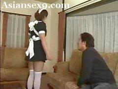 BBW Asian Maid