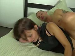 Hot milf and her younger lover 69