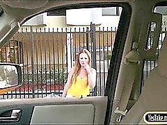 Big boobs blondie teen Sam Summers public sex with stranger