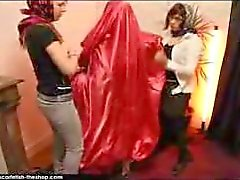 Scarfetish: mumificação Silk