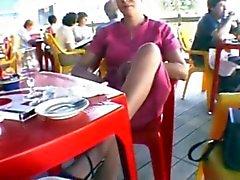 nadine au restaurant