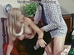 Crazy classic xxx star in vintage porn scene