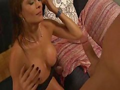 Derrick Pierce fucks porn slut Monique Fuentes right on cue