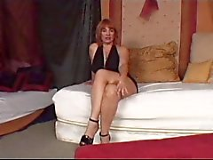 Hete rijpe Redhead Cougar Calliste
