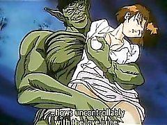 Sexig söt Hentai Porn princess onanerade fjant cums hårt