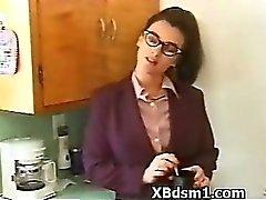 Prepotente il BDSM del feticcio Coppia Giochi