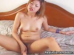 Peachy ass asian amateur forces huge part4