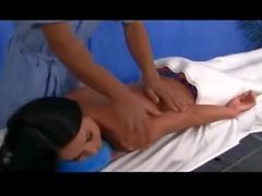 Happy Ending Massage and happy tugs massage by Young 18 years old Teen girl