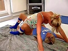 Young Blondes Fight and Fuck