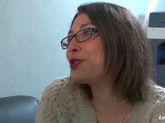 La Novice - Slutty French amateur Celine De Bethune gets her ass plowed deep