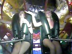 Slingshot ride Orgasm!!