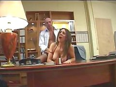 Busty French Secretary Fuck