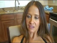 Brunette Milf Fucking and giving blowjob deep - More videos on xboomboom
