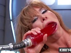 Hot pornstar toying