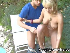 Blonde Brandy gives Rocco ride of his life