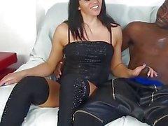 Scambisti Maturi - Floriana fa sesso interraziale (Italian Porn)