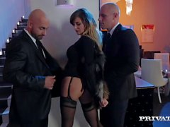 Perky Tit Anna Polina Gets Some Rough DP
