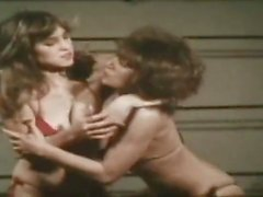 Lesbians in bikini and hells fighting