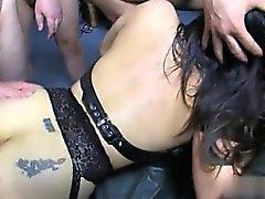 Italian mom sucking big cock