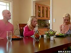 Johnny Sins finds his girlfriend's big meloned blonde mom Abbey : Pornsharing erotic tube