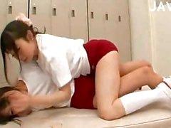 2 genç Japon kızlar sex