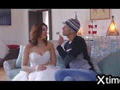 una sposa italiana prende un grosso cazzo nero il giorno del suo matrimonio