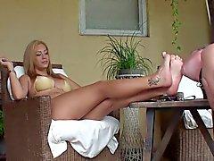 Feet slave