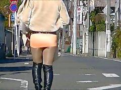 Japaner CD Pantyhose Öffentliches Exhibitionism Untern Rock geschaut Voyeure 2