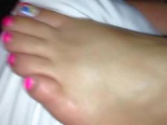 Redbone soles tickled