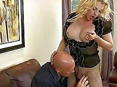Big boobs tranny Tyra Scott anal rammed
