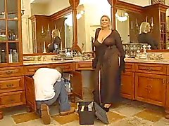 Hot BBW Mature door TROC
