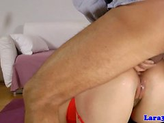 British lingerie mature tight asshole plowed