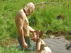 Wild Vintage Outdoor Sex