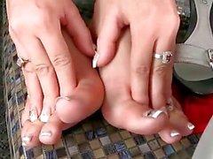 hot footsie babes sex compilation