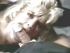 Amber Lynn in Black Nylons