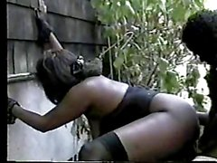 Lady A. ( Black BBW ) & Tony paraattas ( Outdoor Sex ! ) ( 2 )