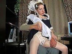 STP1 Sexy Maid подросток Würde Цум Ficken gemacht!