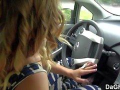 Dagfs - Alyssa-Zweig erhält frech im Auto